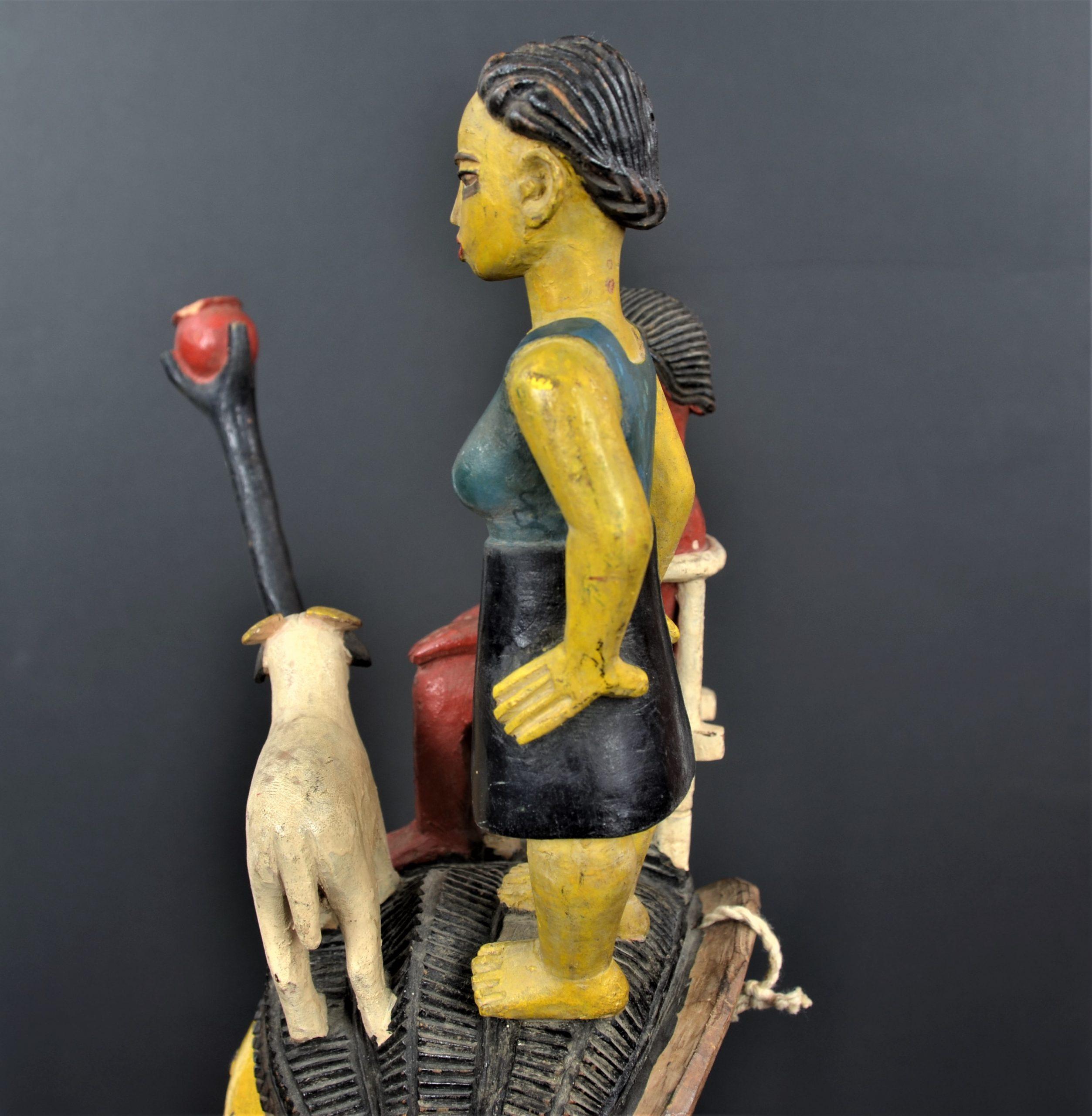 Gouro masque jaune 17