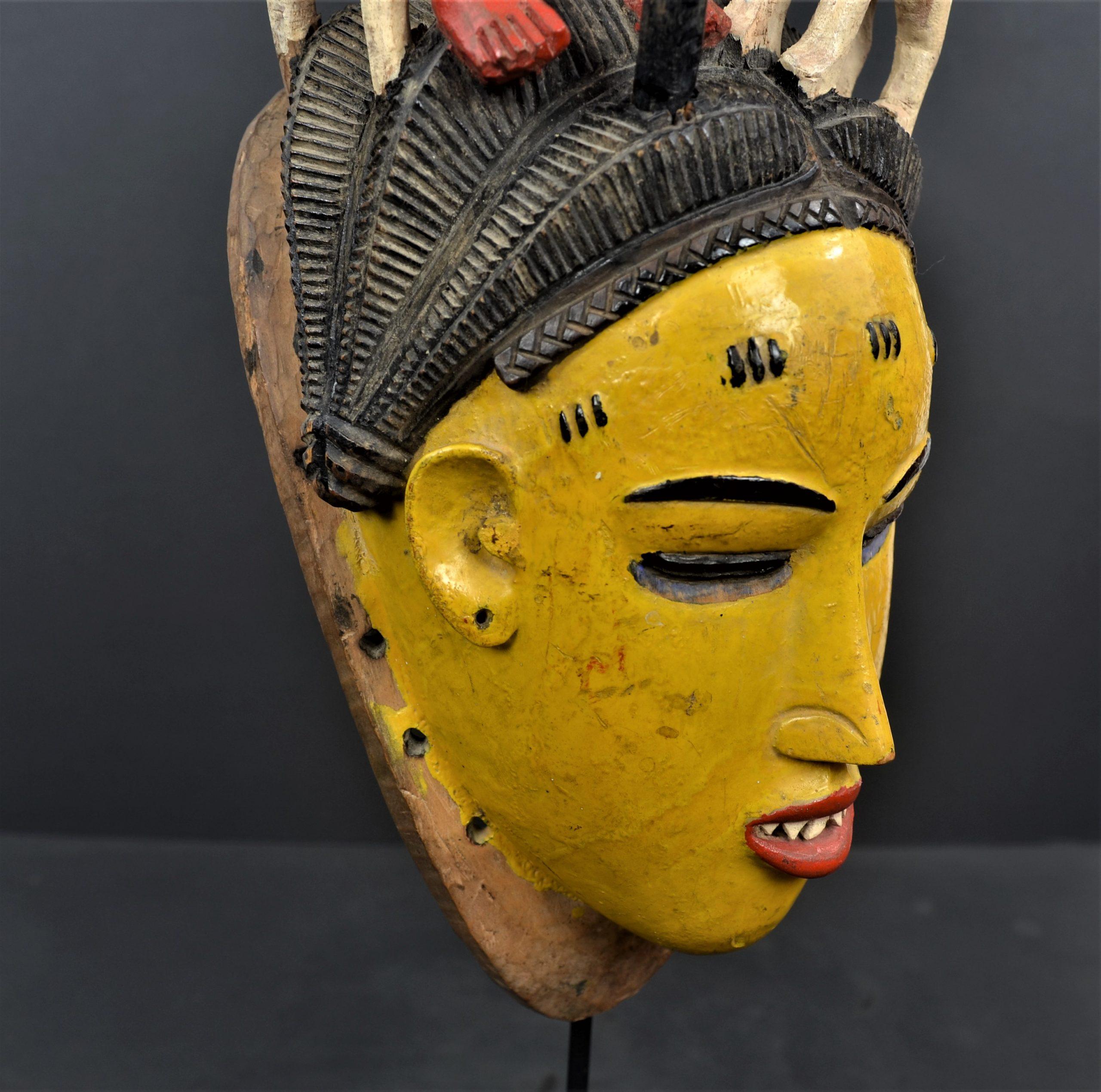 Gouro masque jaune 20