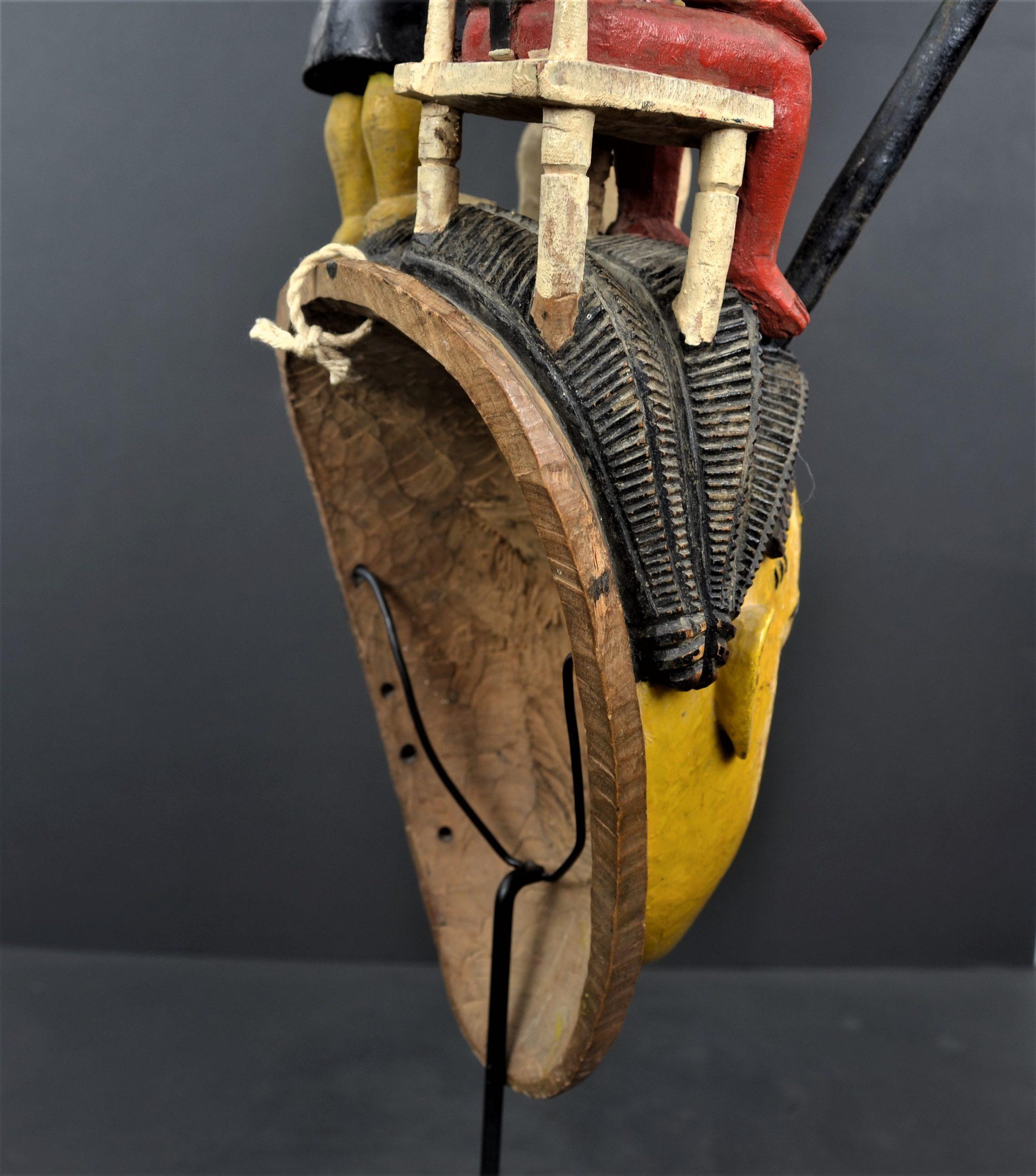 Gouro masque jaune 22