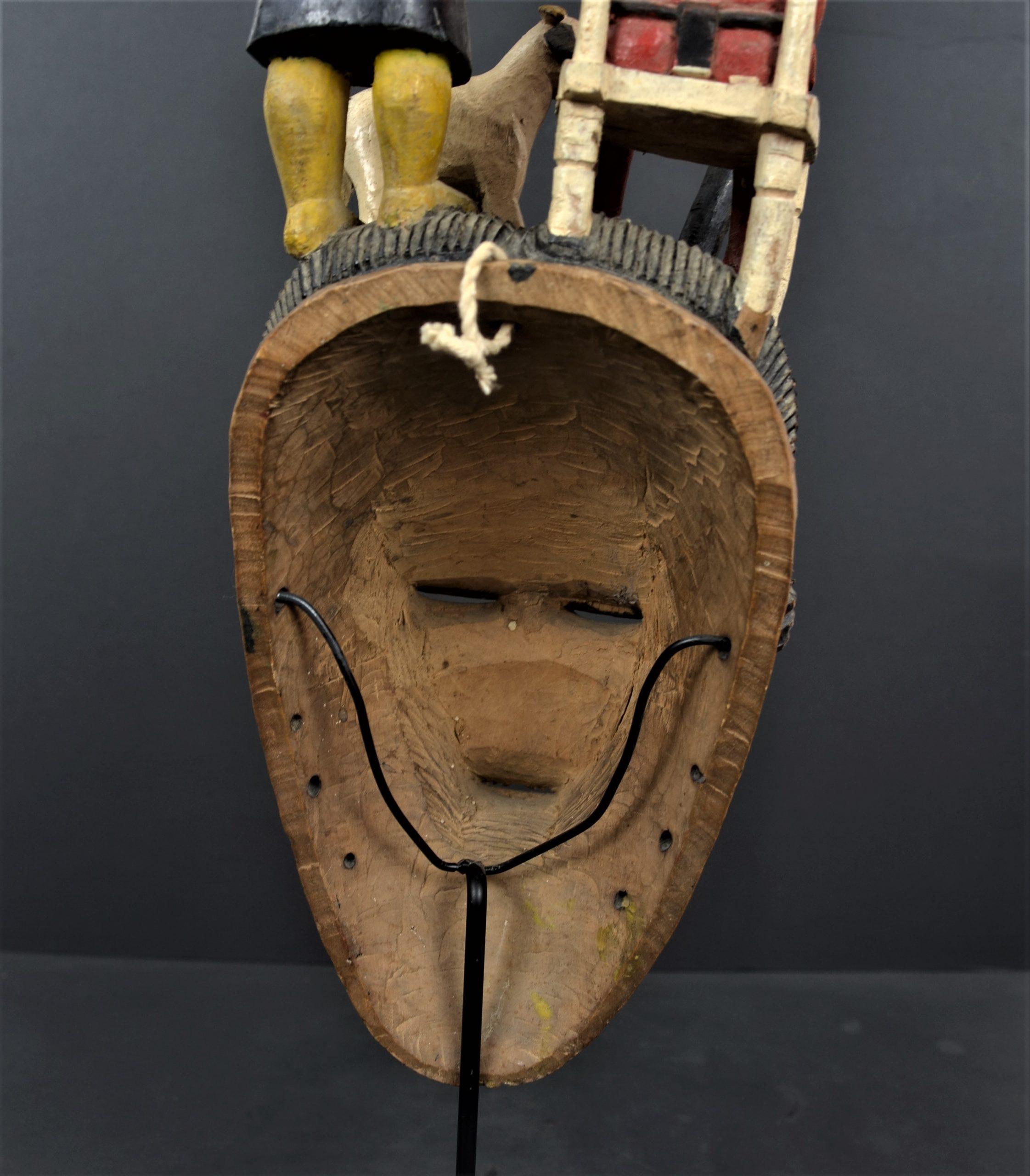 Gouro masque jaune 23