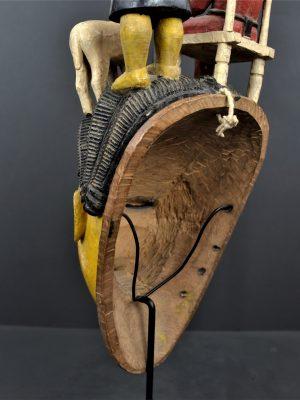 Gouro masque jaune 24