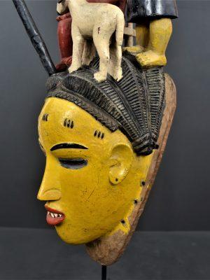 Gouro masque jaune 26