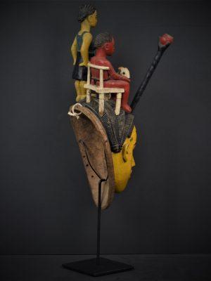 Gouro masque jaune 4