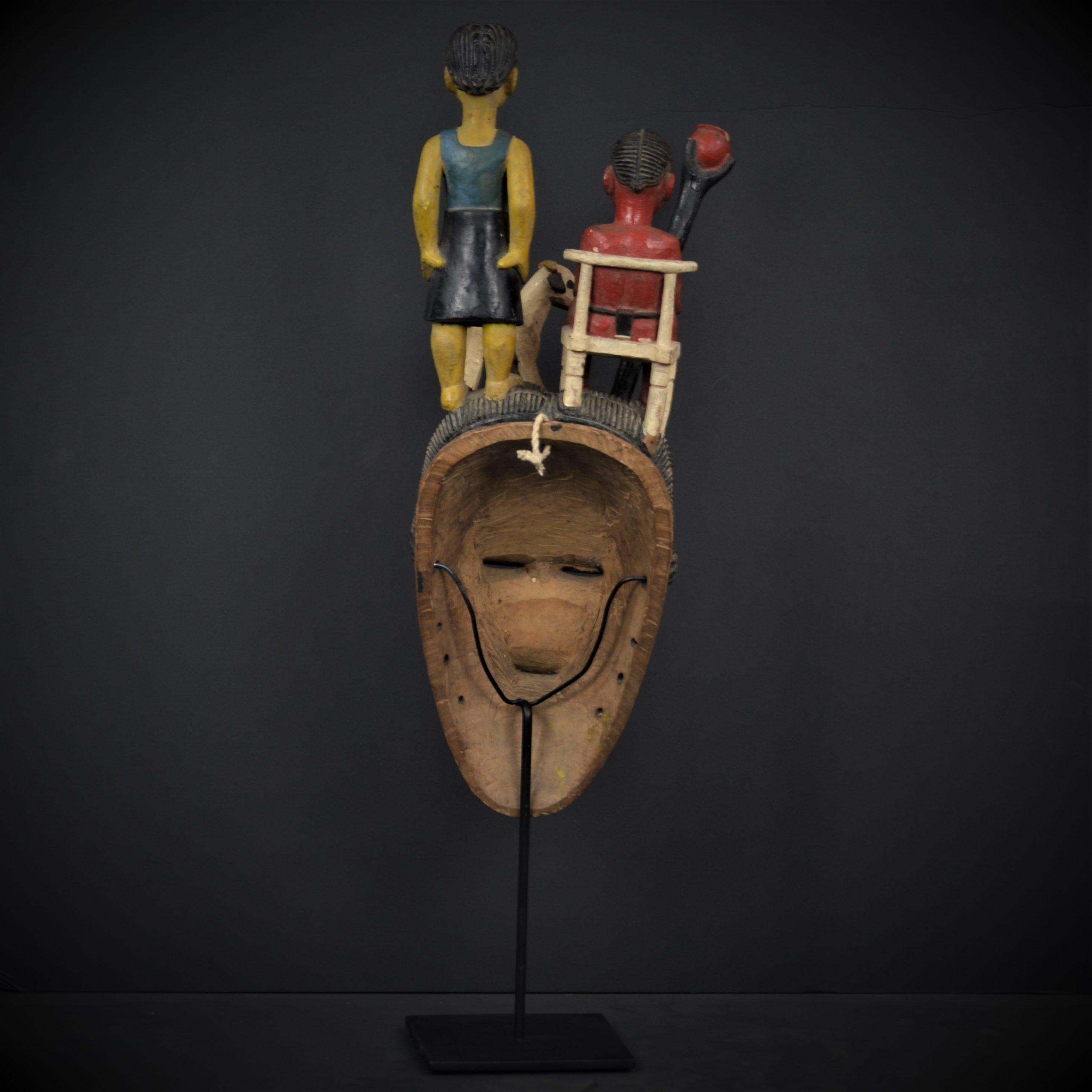 Gouro masque jaune 5