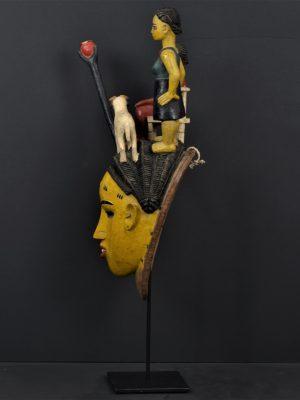 Gouro masque jaune 7