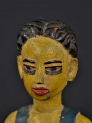 Gouro masque jaune 9