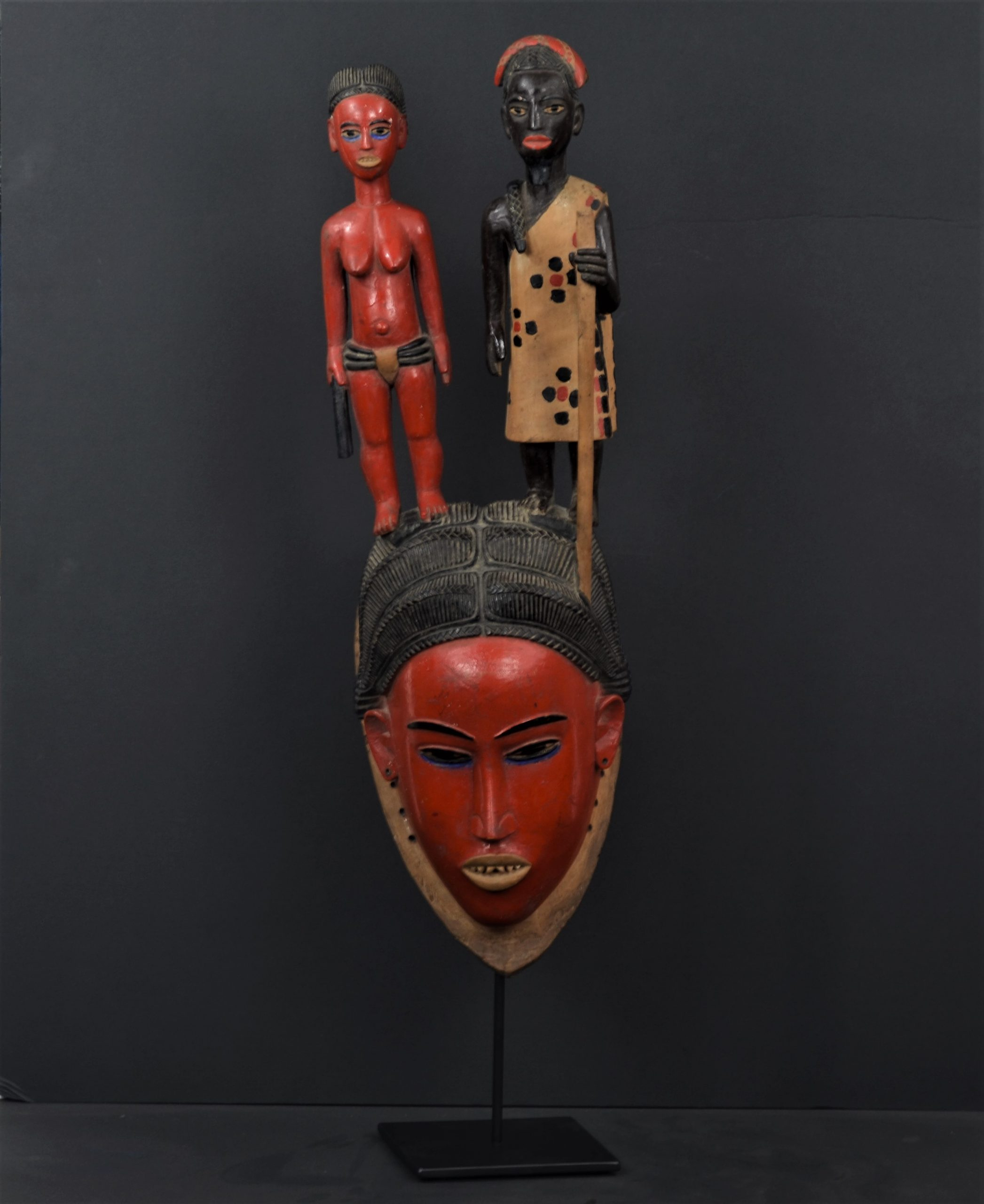 Gouro masque rouge 1