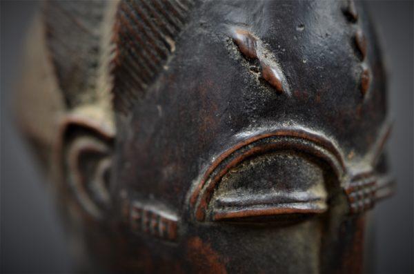 Statue Masculine Baoulé, Côte d'Ivoire
