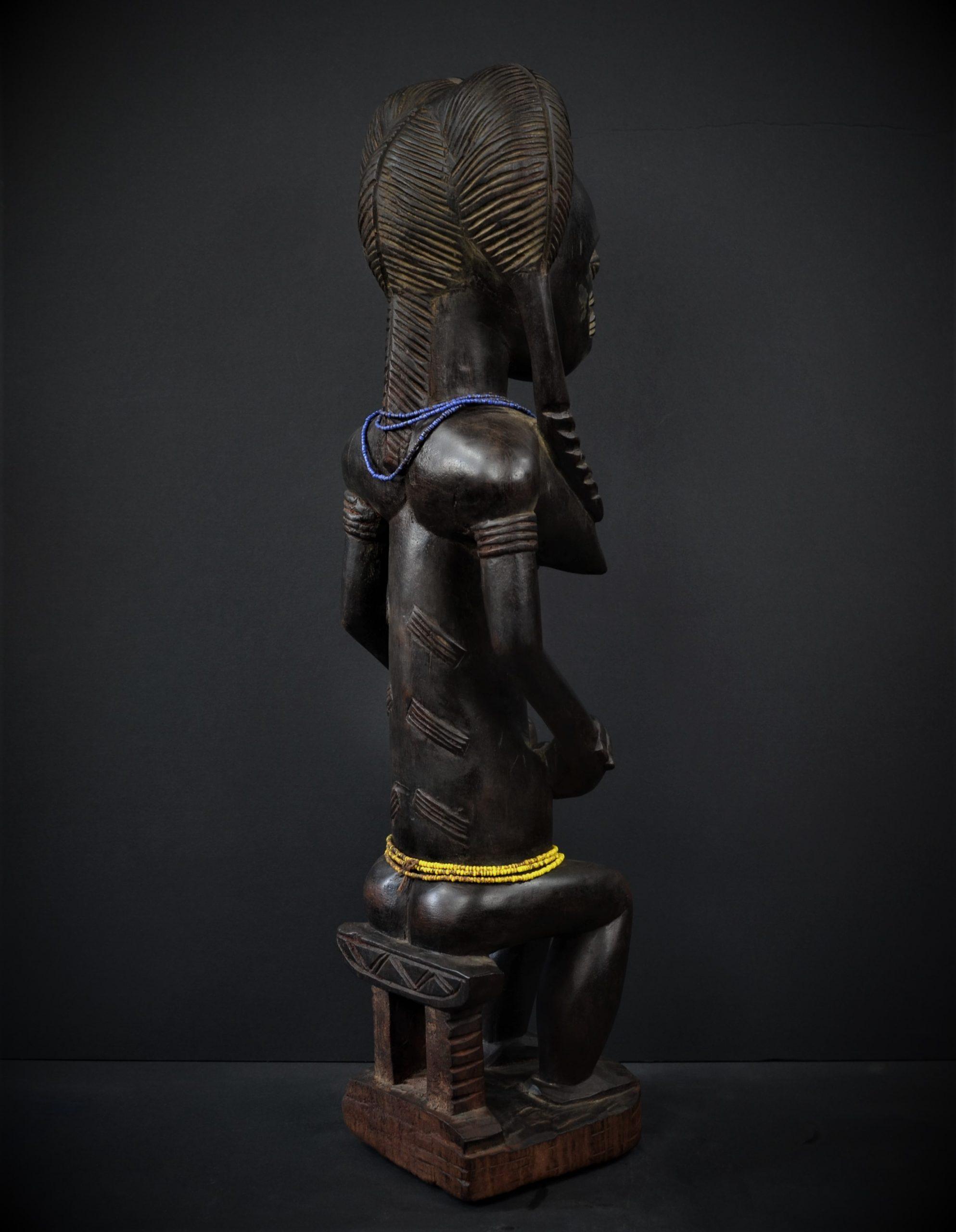 Baoule avec enfant 37