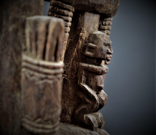Dogon Couple Primordial, style Bombou – Toro, Mali