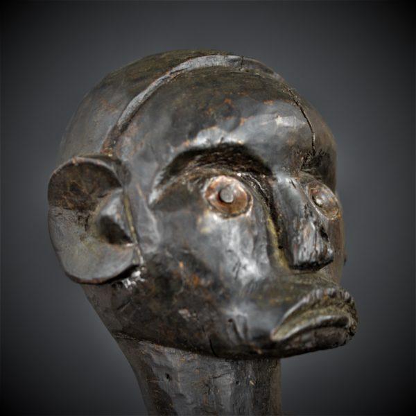 Statue Masculine, Figure d'Ancêtre du Byeri Fang, Gabon