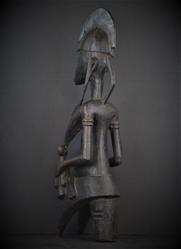 Statue Bamana Maternité Jumeaux, Mali