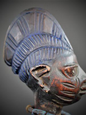 Statuette Jumeau Ibeji Yoruba, Iseyin Oyo, Nigeria