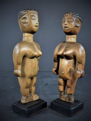 Paire de Jumeaux Venavi Ewe, Togo/Ghana