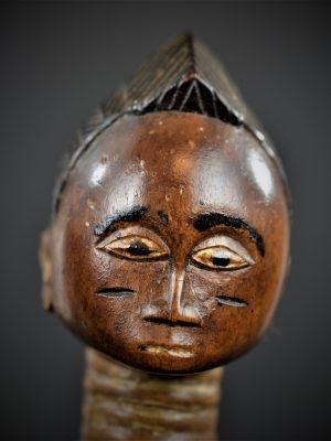 statuette feminine baoule 1