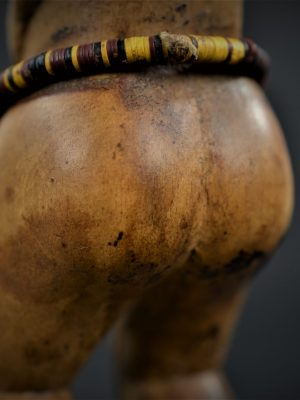 statuette feminine baoule 16