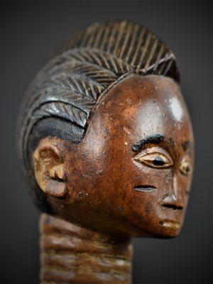 statuette feminine baoule 2