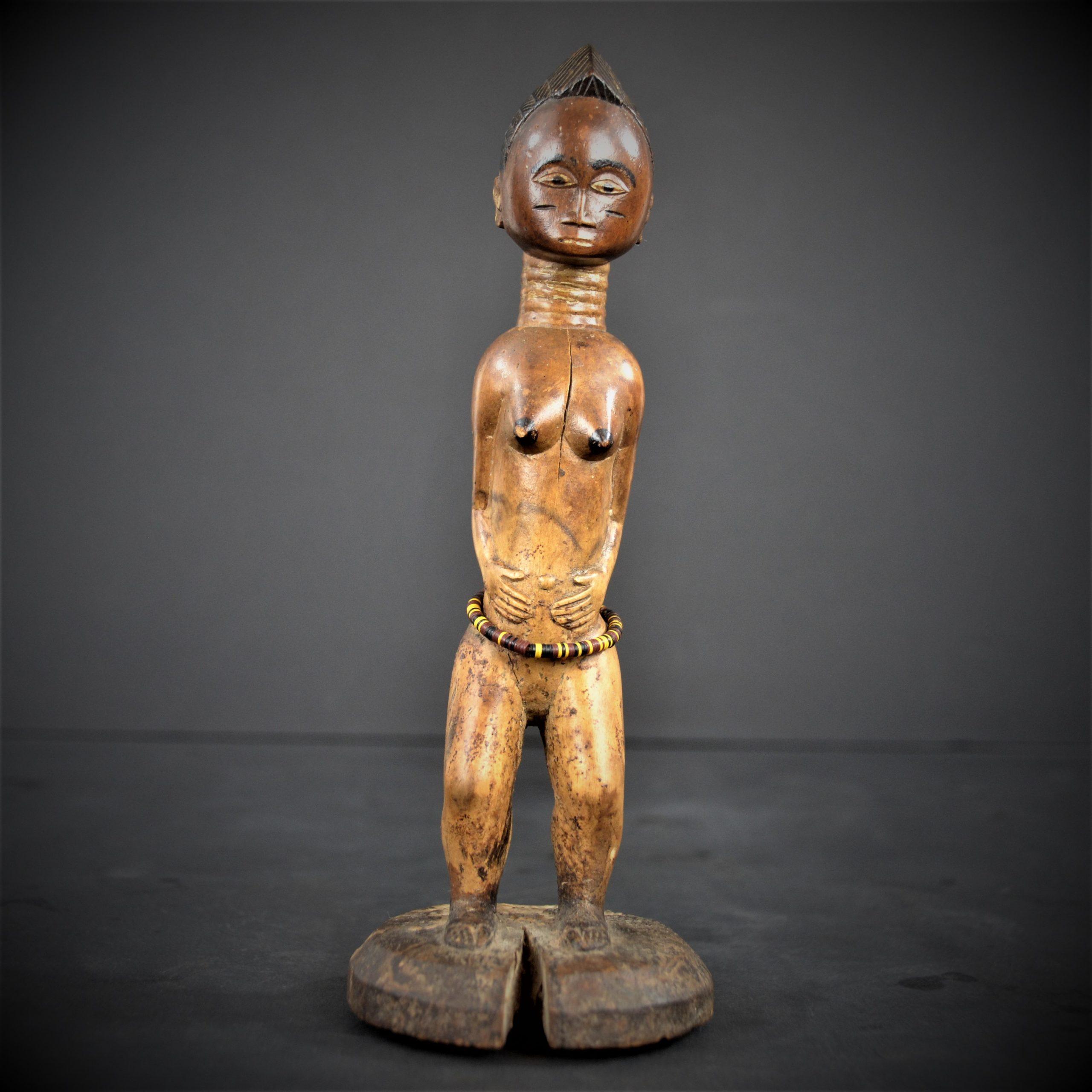 statuette feminine baoule 21