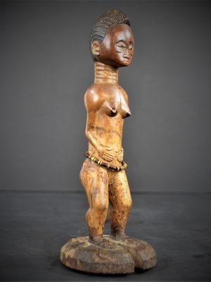 statuette feminine baoule 22