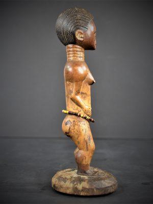 statuette feminine baoule 23