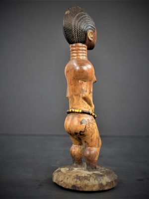 statuette feminine baoule 24