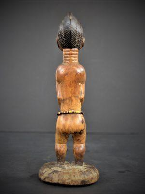 statuette feminine baoule 25