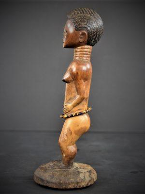 statuette feminine baoule 27