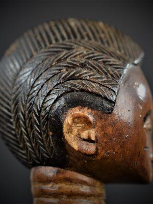 statuette feminine baoule 3