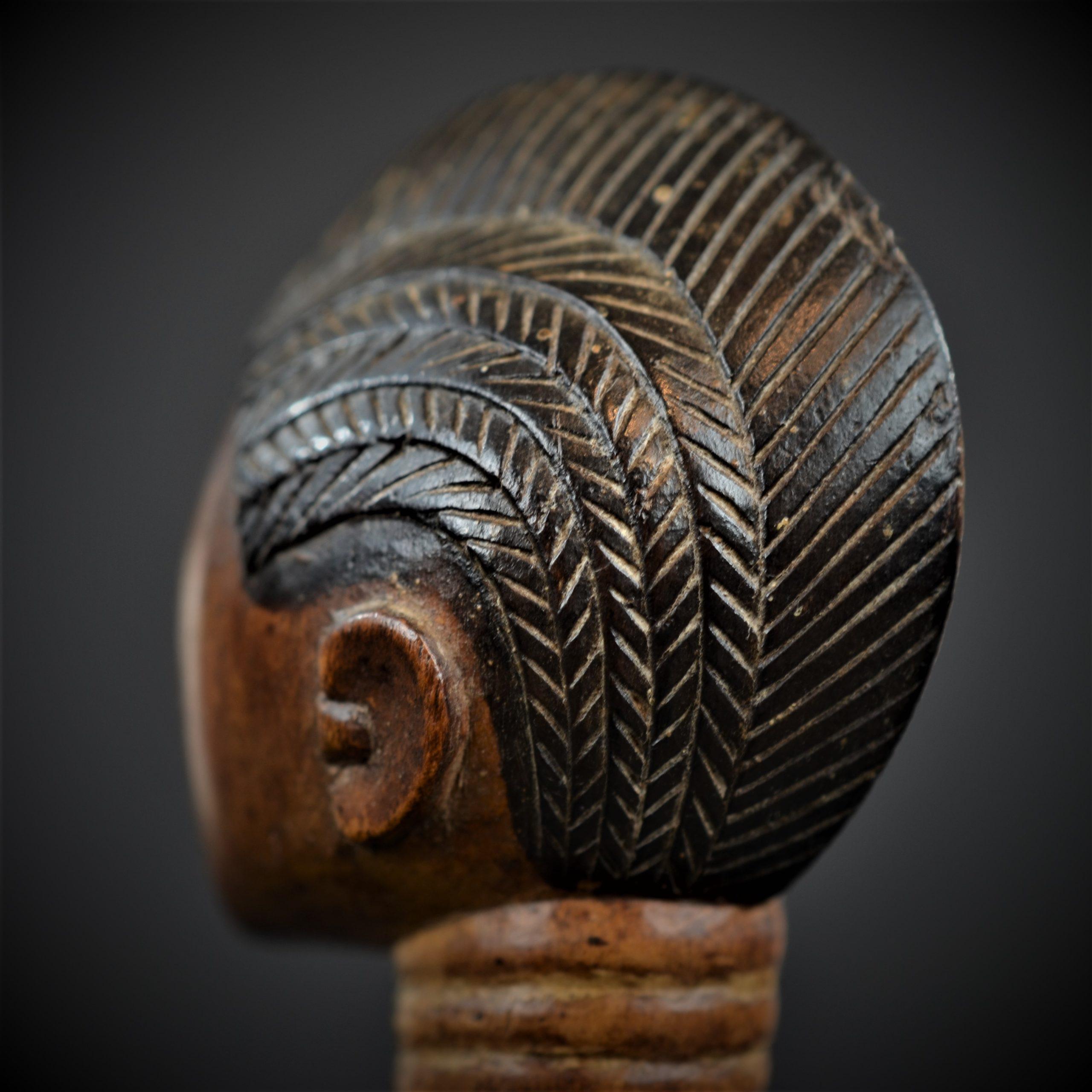 statuette feminine baoule 6