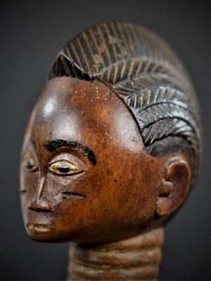 statuette feminine baoule 8