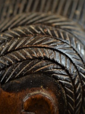 statuette feminine baoule 9