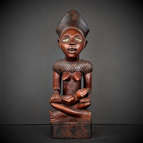Mère et enfant Kongo-Yombe, République Démocratique du Congo