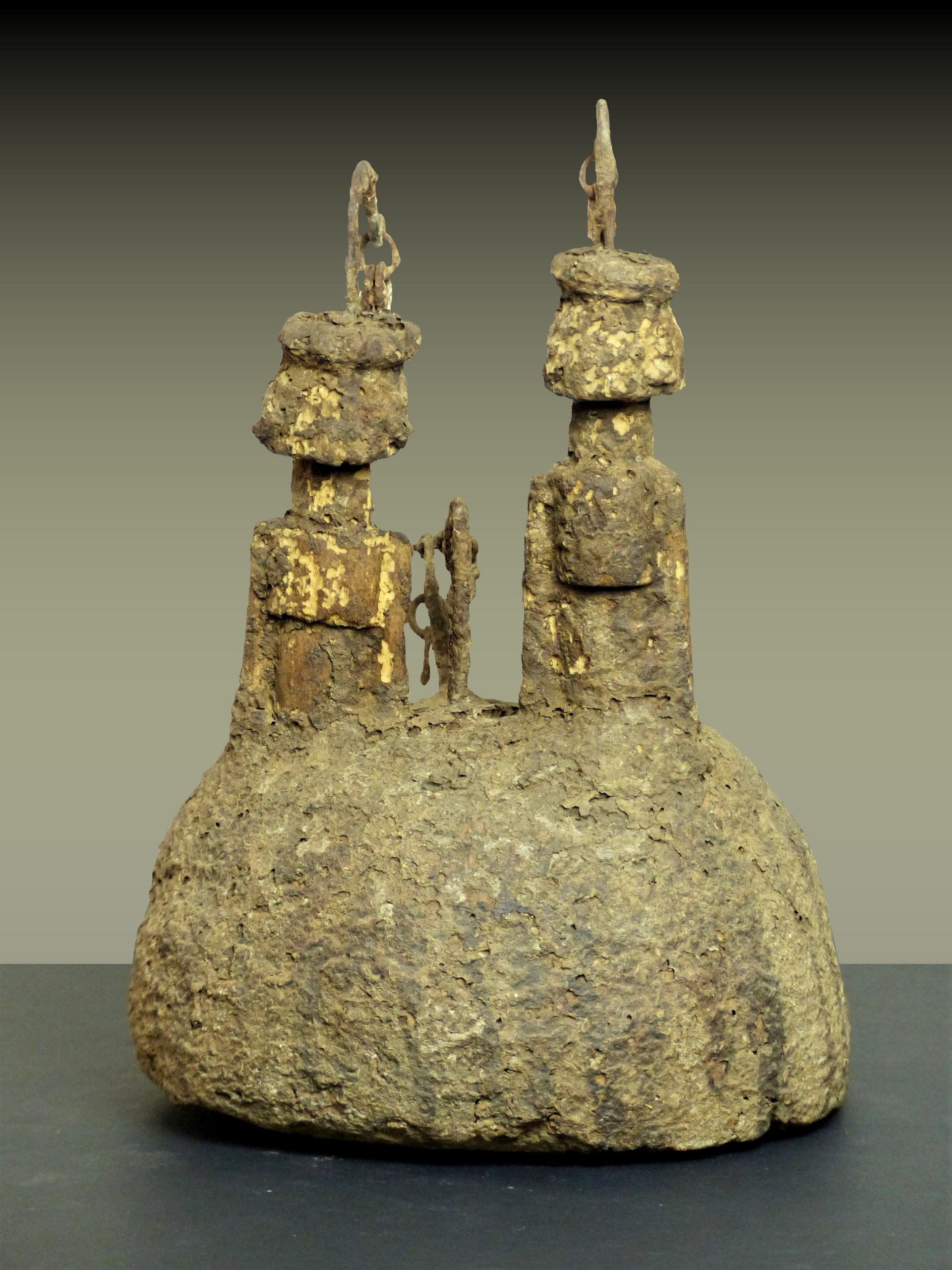 autel dogon en pied dos