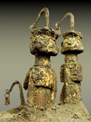 autel dogon torse trois quart gauche dos