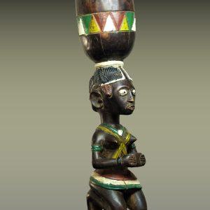Statue porteuse de coupe Baga, Sierra Leone