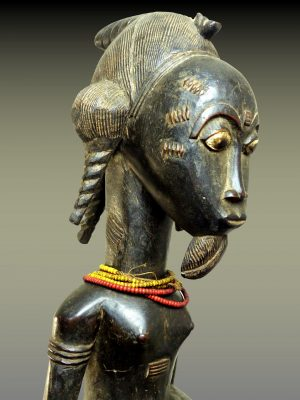 Statue Masculine Baoule, Côte d'Ivoire