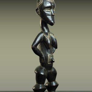 Statue Féminine Bété, Côte d'Ivoire