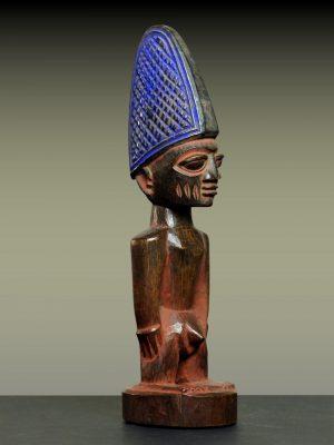 Statuette Jumeau Ibeji Yoruba, Nigeria