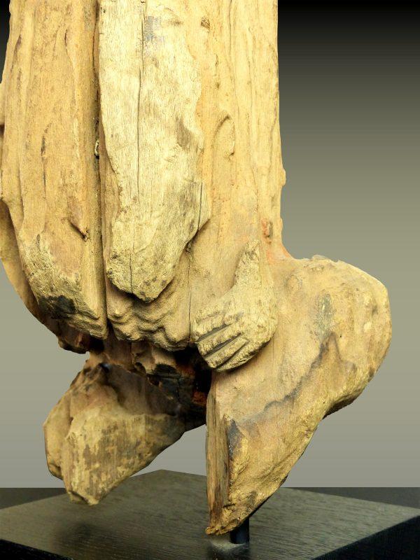 Fragment Poteau de Case Mambila, Cameroun