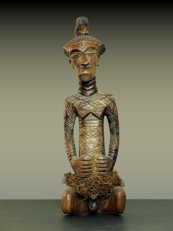 Statue Masculine Ndengese, République Démocratique du Congo