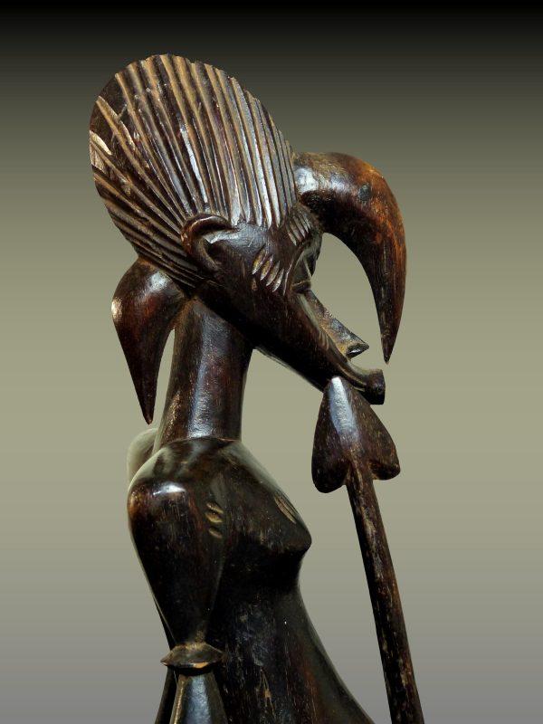 Statue Senoufo, Côte d'Ivoire