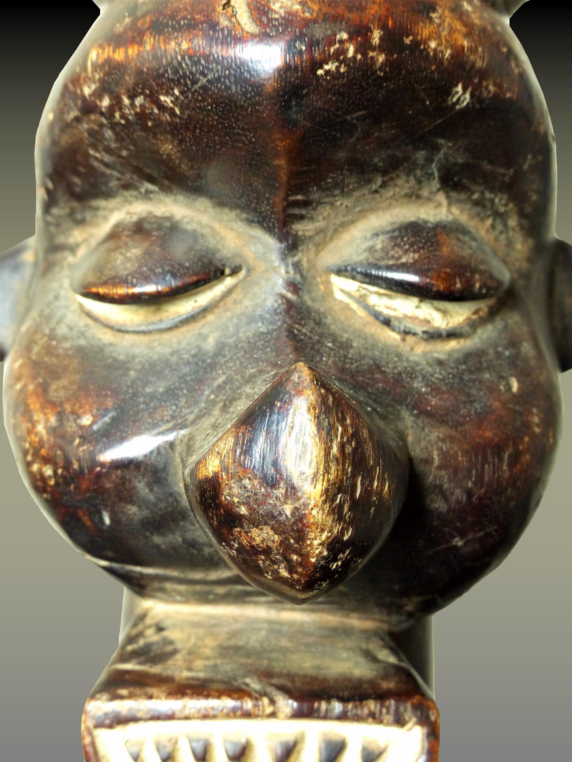 yaka tambour visage