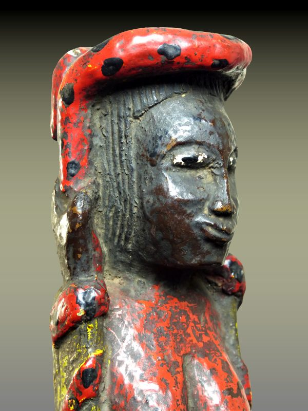 Statue Gouro Mami Wata,  Côte d'Ivoire