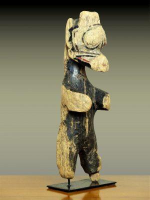 Statuette à tête de buffle Bwa, Burkina Faso