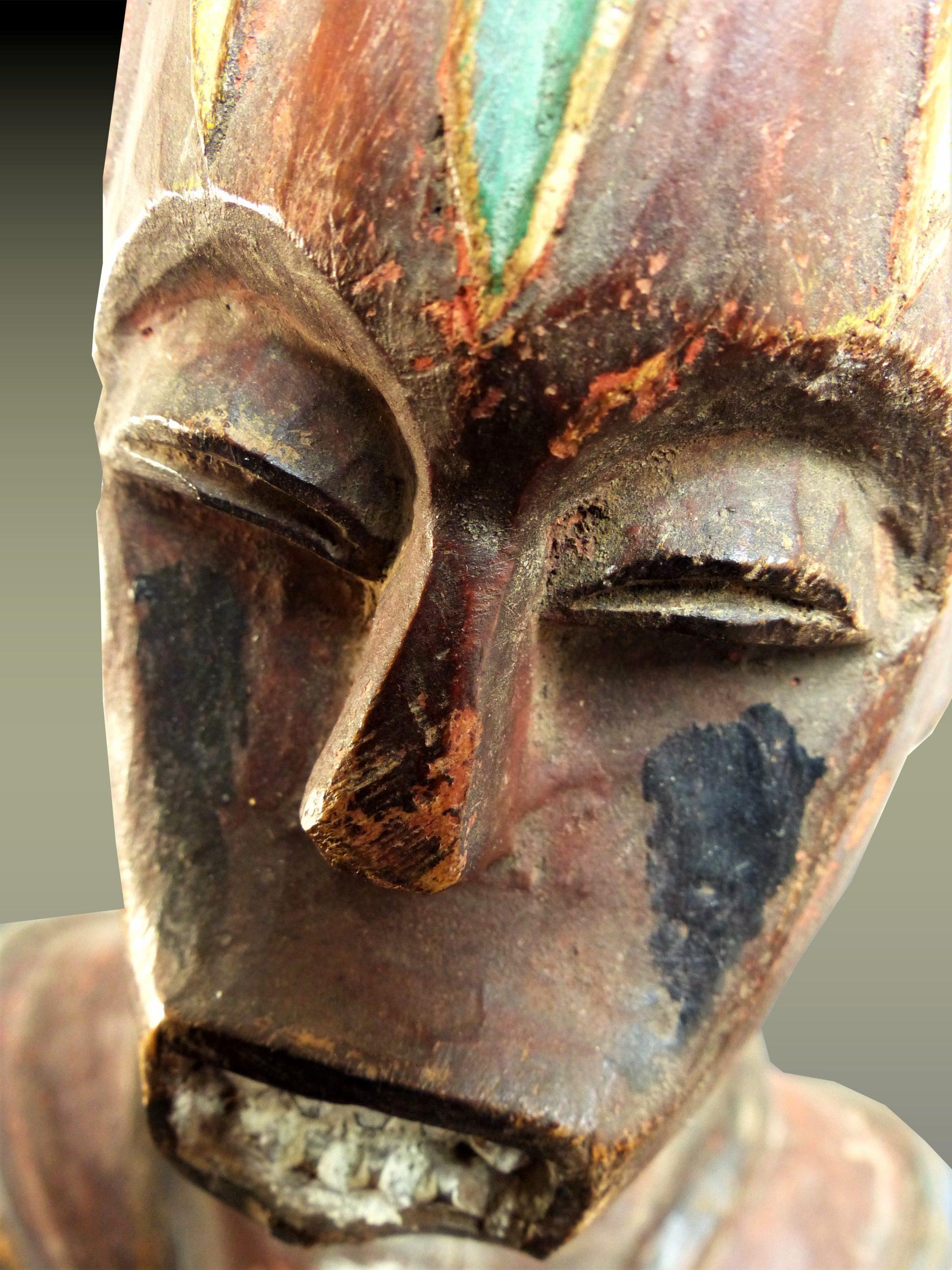 urhobo visage plongée