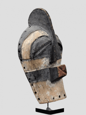 Masque de Grade Songye Kifwebe, République Démocratique du Congo
