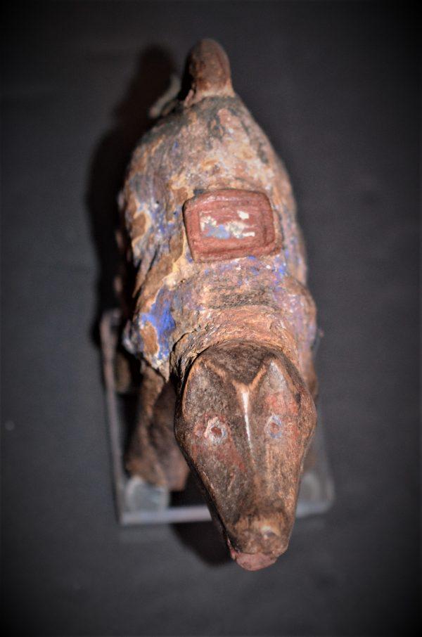 Statuette Zoomorphe Nkisi, Kongo Vili, République Démocratique du Congo