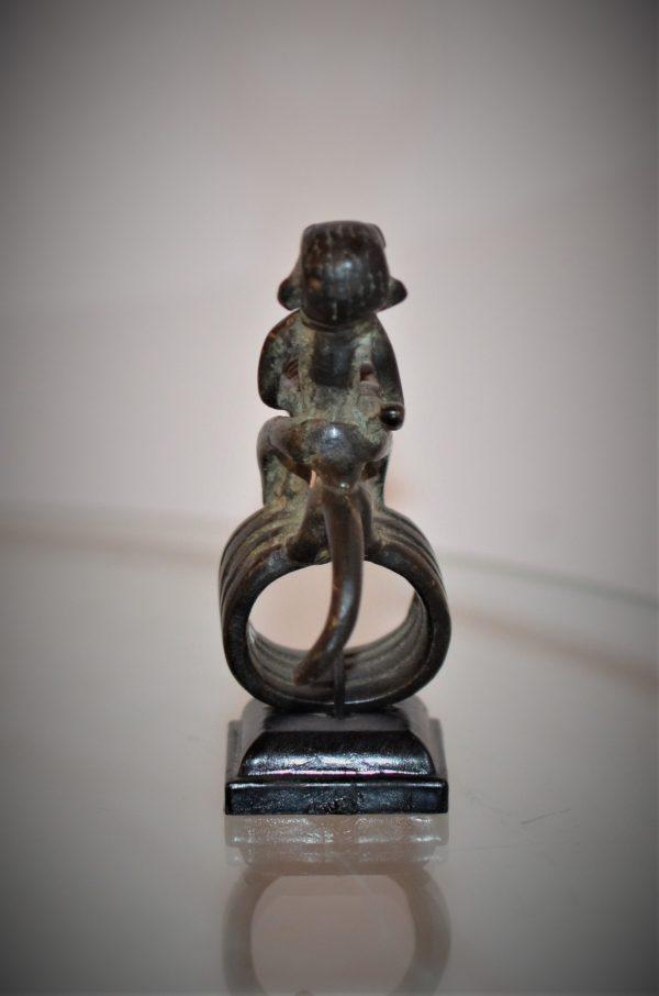Bague Bronze Cavalier Dogon, Mali