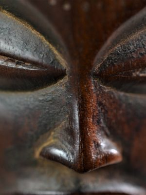 Chokwe statue féminine 11