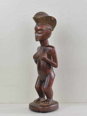 Chokwe statue féminine 8